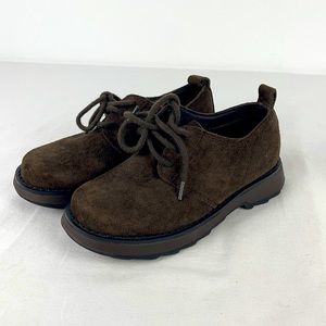 ✨3/$25✨Hush Puppies Campus Brown Suede Shoe - 12M